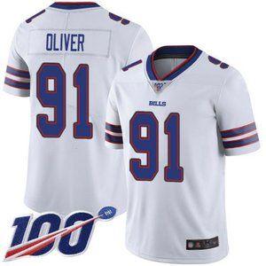 Bills Ed Oliver 100th Season Jersey 1